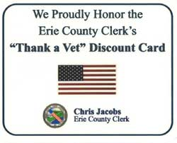 Thank a Vet Erie County Program